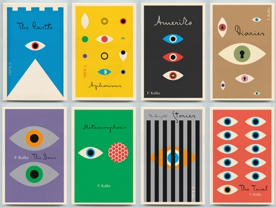 These Kafka cover illustrations are fantastic!