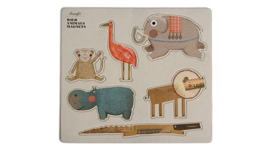 Wild animals magnets, imanes artísticos de Londji