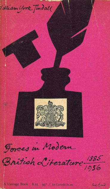 Forces in Modern British Literature - Paul Rand, 1956
