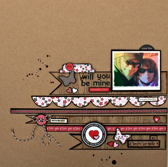scrapbook design by *Kristine*, pinned from scrapbook.com