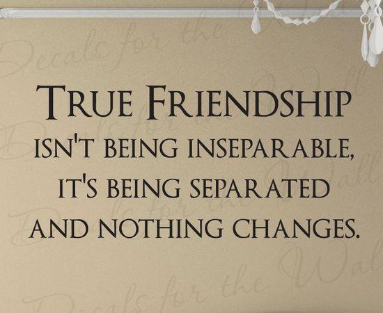 true friendship saying - Google Search