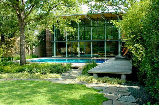 modern garden design landscaping hocker plants