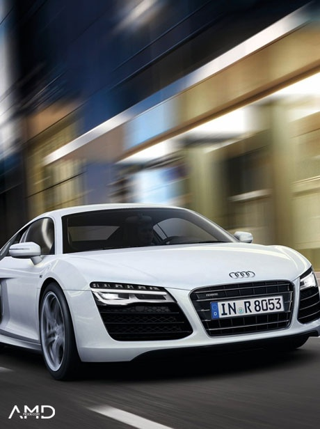AMDMODE - Audi Middle East has revealed the refreshed 2013 R8 and the changes, though minor, nicely update what is one of our favorite sports cars!