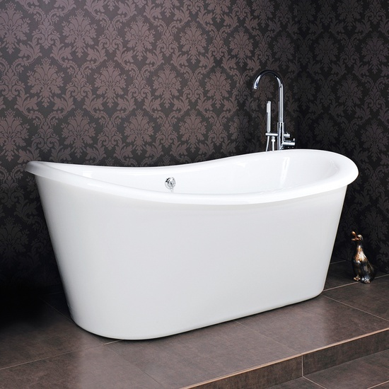 Milano Luxury Double Ended Slipper Bath