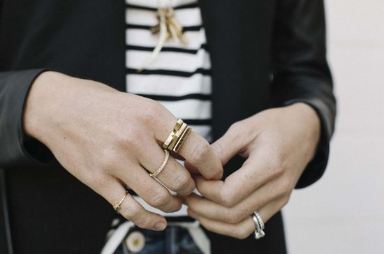 stripes and rings