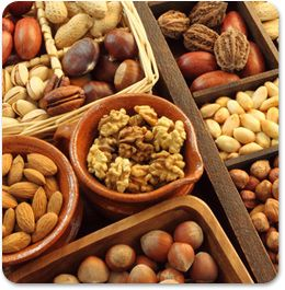 Health Benefits of Nuts, almonds and Seeds. They have a lot of nutritional value and health benefits and can be combined in our daily menu in various recipes.
