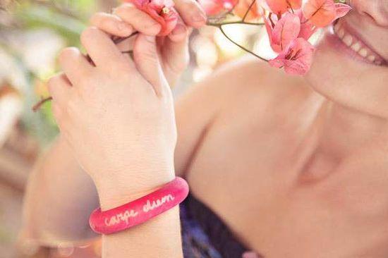 DIY Mantra Bracelets -  The Lumi Blog Shows You How to Make Customized Jewelry #DIY #lumiblog #customizedjewelry #fashion #jewelry