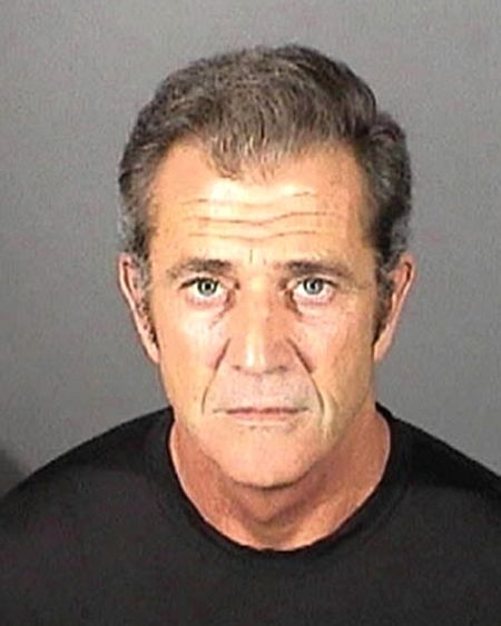 Mel Gibson posed for the above El Segundo Police Department mug shot in March 2011 following a misdemeanor battery conviction. The Hollywood star pleaded no contest to the charge that resulted from a fight with his former girlfriend, Oksana Grigorieva. Gibson, 55, was sentenced to three years probation and ordered to complete a one-year domestic-violence counseling program as well as undergo mental health counseling.