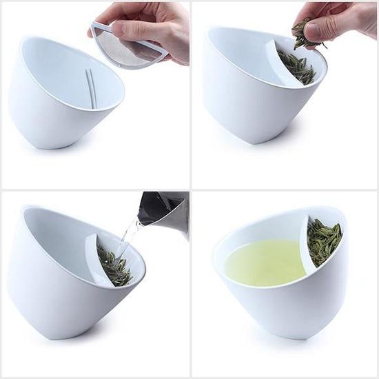 Pratik beyaz çay demleme