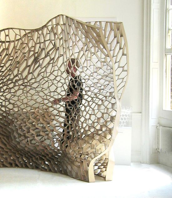 The Manifold installation, developed from the Honeycomb Morphologies Project : MATSYS