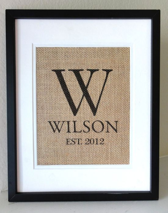 burlap crafts for weddings