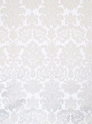Fabricut Fabrics Palmeiro-Silver $54.50 per yard #interiors #decor #silver #damask