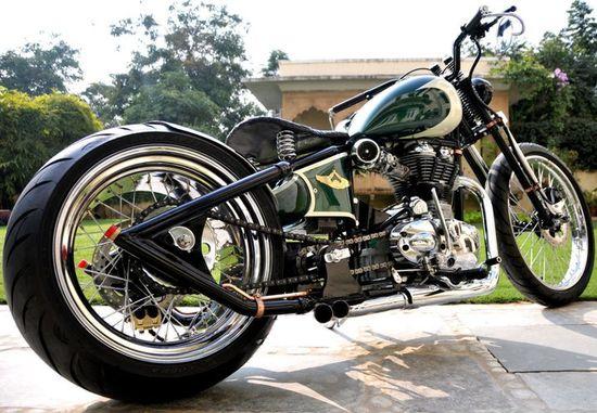 Rajputana Customs'Nandi' - Pipeburn - Purveyors of Classic Motorcycles, Cafe Racers & Custom motorbikes