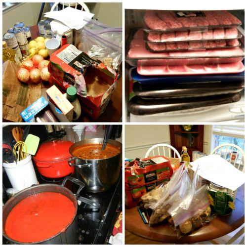 Freezer Meals (with recipes)!
