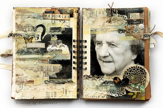 Journaling mixed media