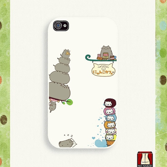 iPhone 4 Case iPhone case iPhone 4s Case iPhone 4 Cover by NoNaked, $15.00