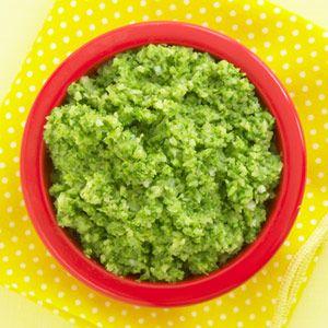 Asparagus & Broccoli Baby Food