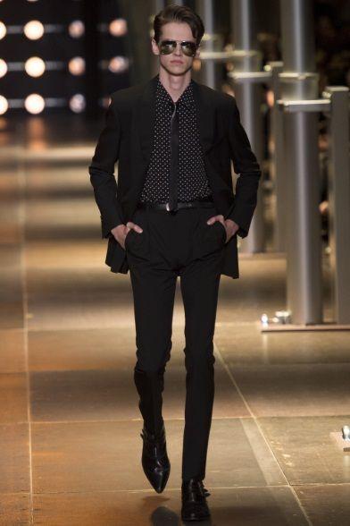 Saint Laurent - Men Fashion Spring Summer 2014 - Shows - Vogue.it