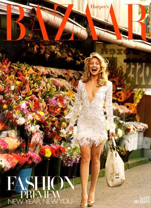 Harper's Bazaar - Kate Hudson