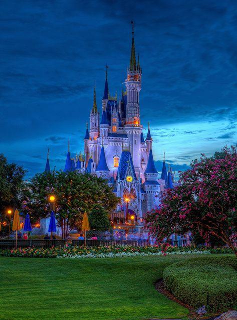 Magic Kingdom - Cinderella Castle by Cory Disbrow
