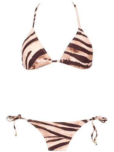 Zebra Stripe Bikini