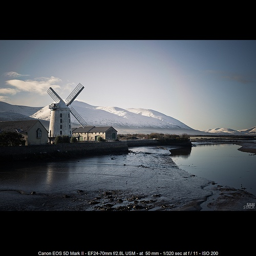 Blennerville windmill, #Kerry, Ireland