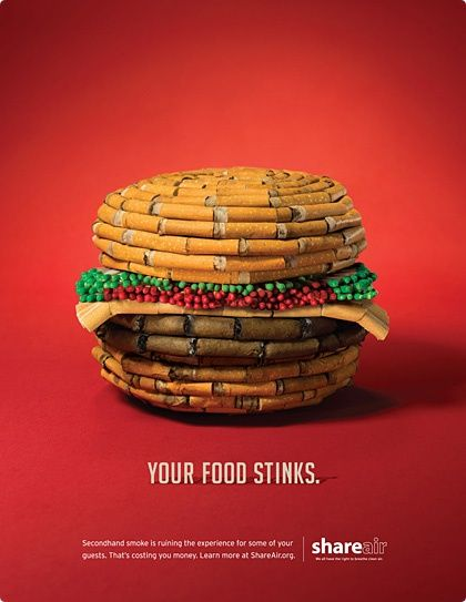 Don't inhale your food. #ads #creative #funny commercial ads #commercial ads #funny commercial #funny ads