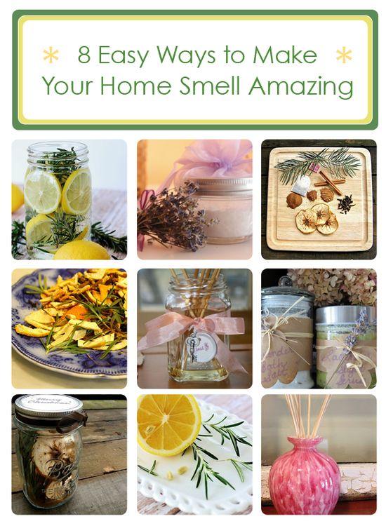 8 easy ways to make your home smell amazing! www.hometalk.com/...