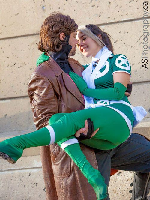 Confessions of a Cosplay Couple - Rogue & Gambit