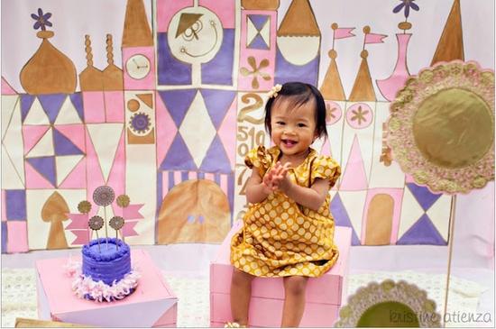 Eva's Small World first birthday party