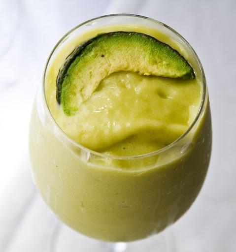 Piña-Vocado by healthyhappylife: Sip, taste and swoon! #Smoothie #Avocado #Healthy