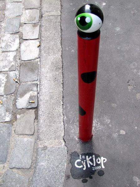 street art & graffiti - Paris - Le Cyklop  #streetart