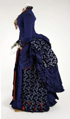 Darlington, Runk & Co. (American)  Dress - Side  1880–85