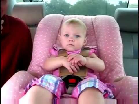 #Funny #Video!! This is how early #girls start #talking and talking and talking...........ive seen this before but I cant seem to get enough of all the important thing this little darling is saying. I picked out mama, daddy, Nicola(or something close to that) and hot potato.