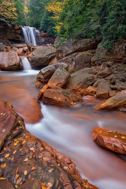 Douglas Falls, West Virginia