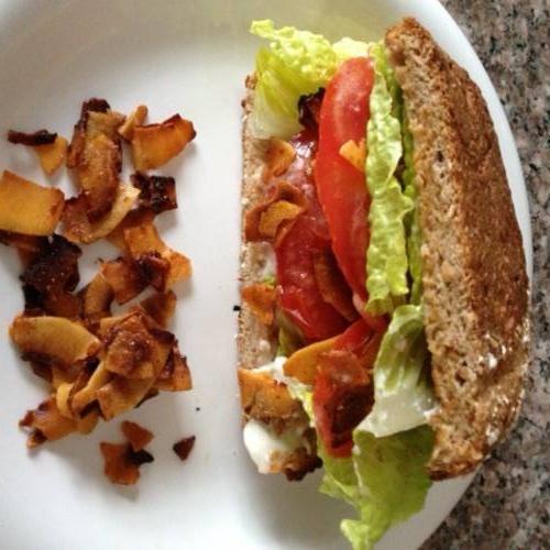 #Vegan BLT Sandwich