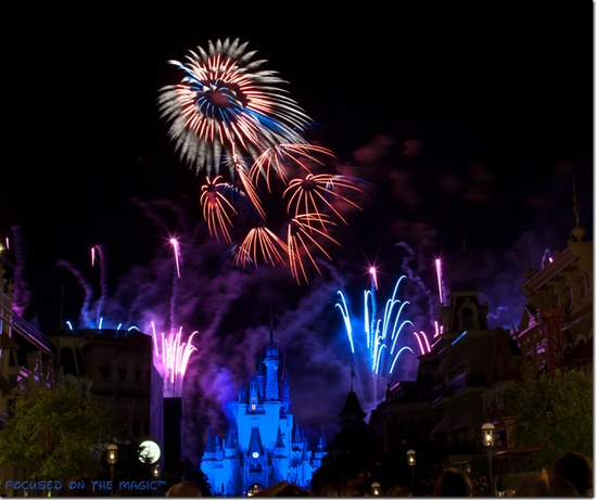 Wishes over Cinderella Castle -- A Must-See!