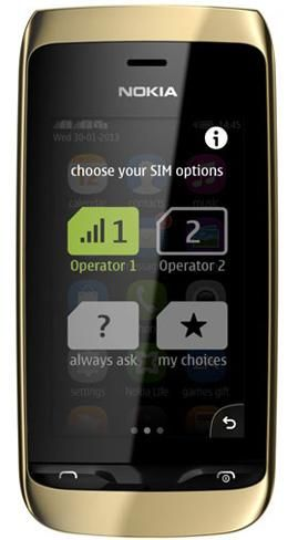 Nokia Asha 310 smart phone