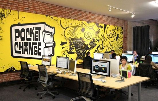 Pocket Change's San Francisco Offices
