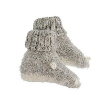 baby animal booties - oeuf