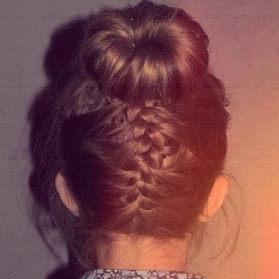 #girly #amazing #hair #braid #bun #style #pretty #brown #ig - @shine_fashion_forever