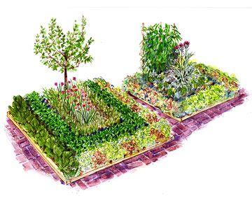 Patio Vegetable Garden 7 x 7 ft