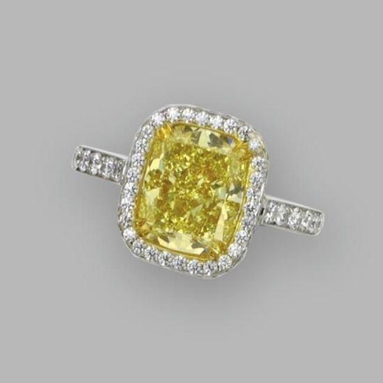 Gorgeous! Yellow diamond ring