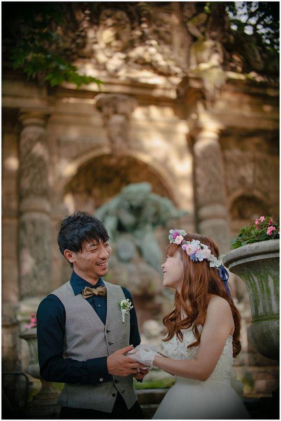 Japanese boho wedding / Photography © Kurt Vinion