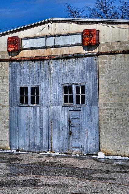 door within a door