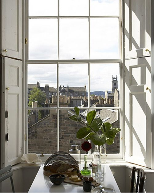 What a lovely view - Edinburgh.