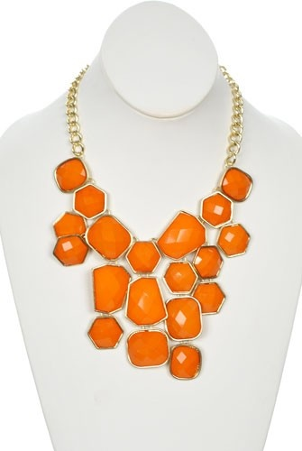 Mining for Gems in Orange - Jewelry