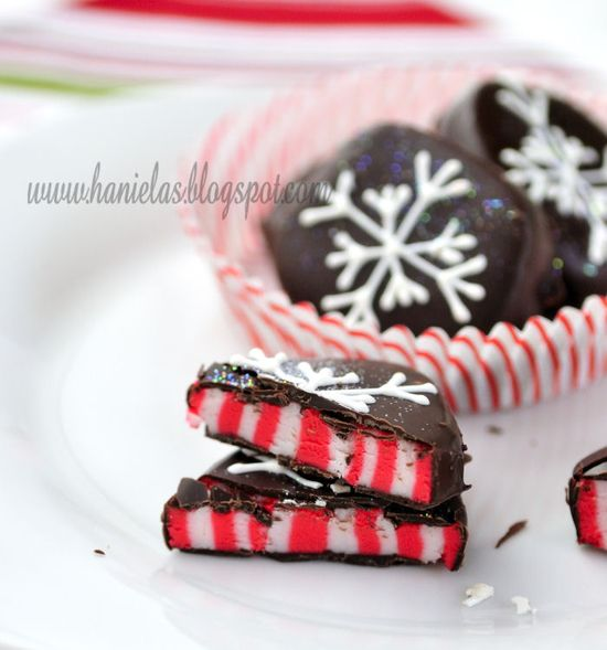 ~Candy Cane Peppermint Patties~