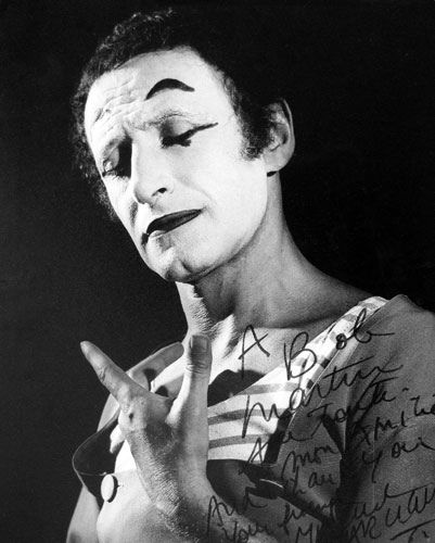 Marcel Marceau by Bob Martin Photographer. The Mime of all time.