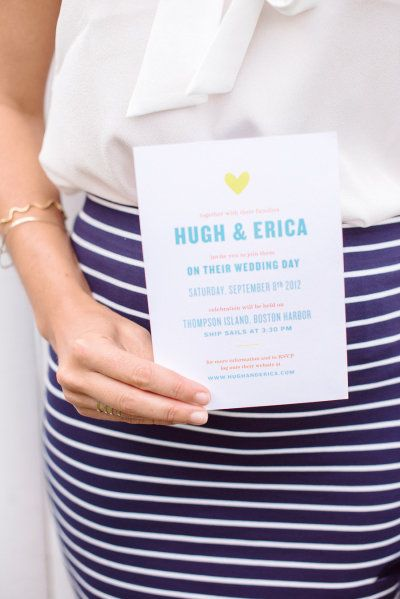 nautical stripes and modern invites by meaghanmurraydesi...